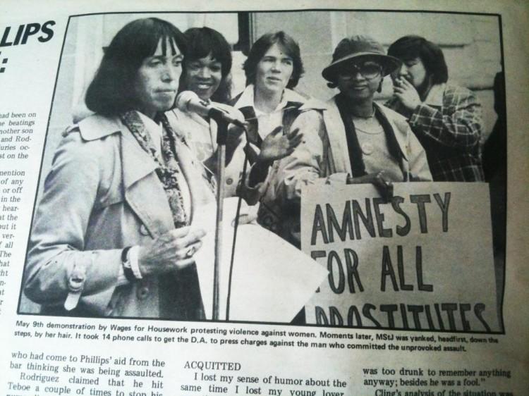 Margo St James - Amnesty for All Prostitutes